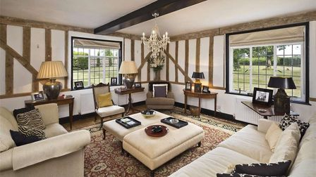The Hill Farm House extends just over 5,000 square feet. Picture: BEDFORDS