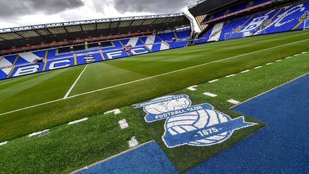 Coventry City are playing all their home games at St Andrew's this season. Photo: PA