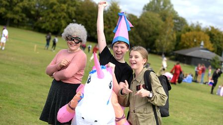 Pupils got dressed up in all sorts of costumes Picture: SARAH LUCY BROWN
