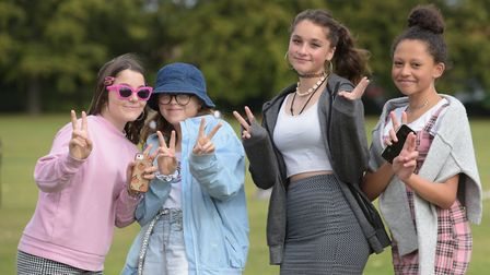 These pupils dressed up as characters from Mean Girls Picture: SARAH LUCY BROWN