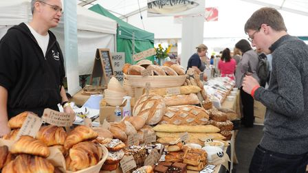 The Aldeburgh food and drink festival at Snape Maltings Picture: LUCY TAYLOR
