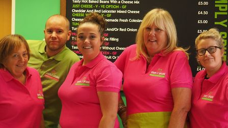 The team at Simply Spuds Picture: Simply Spuds