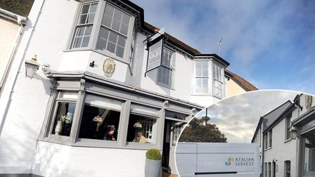 The Long Melford Swan has shut down just months after reopening. Atalian Servest were spotted cleari
