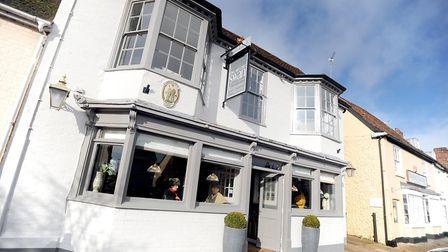 The Swan, in Long Melford, has closed down again. Photo: Archant.