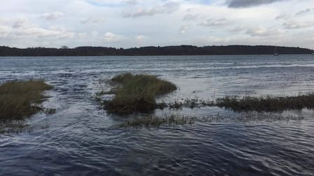 Suffolk and Essex could see flooding overnight Picture: SARAH PEARSON