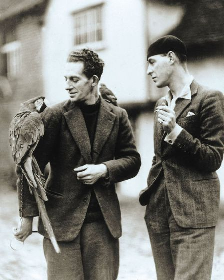 Cedric Morris, left, and Arthur Lett-Haines Picture: TATE ARCHIVE
