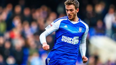 Huws had a successful loan spell at Ipswich before the move was made permanent. Picture: Steve Wa
