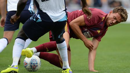 Emyr Huws has battled for fitness over the last two years. Picture Pagepix