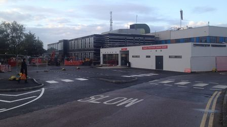 The new urgent treatment centre at Colchester Hospital. Picture: EAST SUFFOLK AND NORTH ESSEX NHS FO
