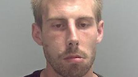 Adam Bone worked with Suffolk police between his arrest and sentencing Picture: SUFFOLK CONSTABULARY