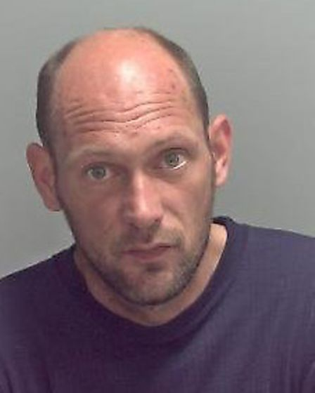 Douglas Gibson has been jailed for burglaries carried out in Lowestoft Picture: SUFFOLK CONSTABULARY