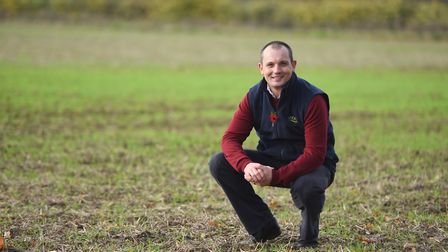 AHDB Strategic Farmer Brian Barker, who thinks grazing animals are helpful overall in combating cli