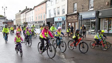 The event provided traffic-free streets so all ages could feel safe Picture: PHIL MORLEY PHOTOGRAPHY