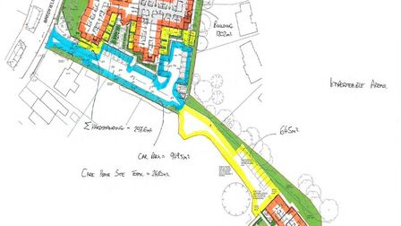 Plans to construct a 55 bed care home are finally underway now that extensive ground work has been c