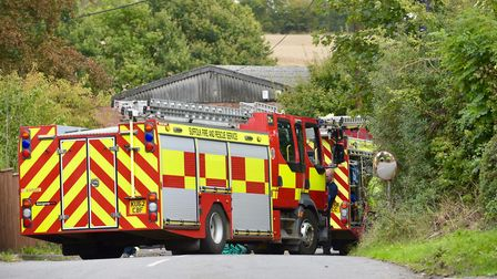 Emergency crews are at the scene of a major crash at the junction of the A140 and All Saints Road Pi