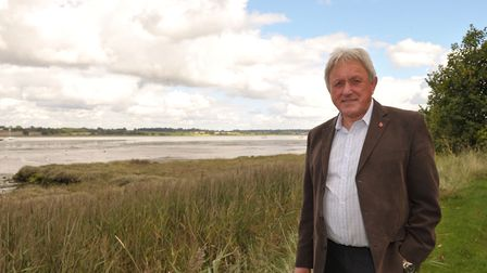 Chair of the Suffolk Coast and Heaths AONB David Wood. Picture: Sarah Lucy Brown