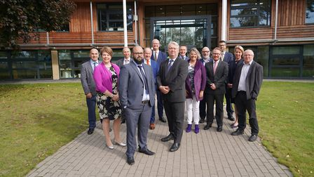 The Suffolk Public Sector Leaders Group met at East Suffolk House in Melton on Friday, September 27