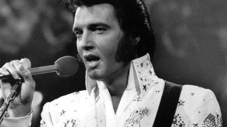 Elvis Presley's first studio album came out in the 1950s Picture: AP