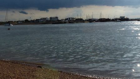 Bawdsey Quay is one of the areas where a flood alert has been issued. Picture: IAN BARRATT