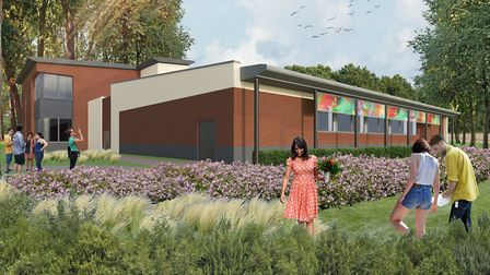 A CGI image of how the new Hadleigh Swimming Pool complex will look Picture: SOUTH SUFFOLK LEISURE