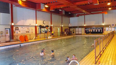 Hadleigh's current swimming pool will be demolished when the new one is completed. Picture: Jerry Tu