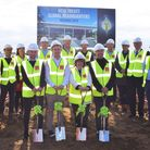 A ground-breaking ceremony was held to celebrate manufacturer Treatt's commitment to Bury St Edmund