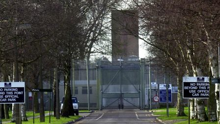 Highpoint Prison near Newmarket Picture ARCHANT