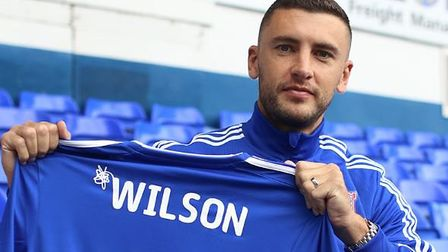 James Wilson has signed for Ipswich Town on a short-term deal. Picture: ITFC