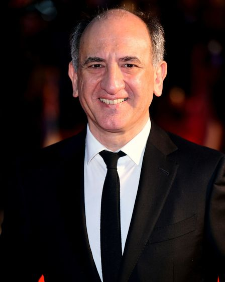 Armando Iannucci at The Personal History of David Copperfield European Premiere at Odeon Luxe Leices
