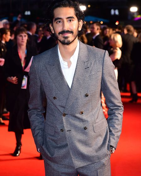 Dev Patel at The Personal History of David Copperfield European Premiere at Odeon Luxe Leicester Squ