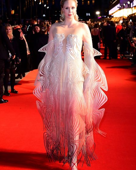 Gwendoline Christie during The Personal History of David Copperfield European Premiere at Odeon Luxe