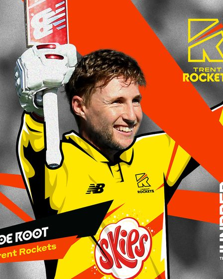 England captain Joe Root will lead the Trent Rockets in The Hundred. Picture: ECB/PA