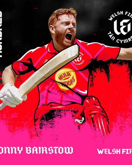 Jonny Bairstow has been selected to play for Welsh Fire in The Hundred next Summer. Picture: ECB/PA