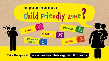 A new campaign from Suffolk County Council aims to highlight the potential dangers to children insid