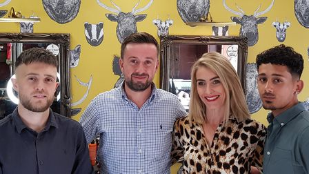 James Daniel Barbers offers a new app to help make your hair cut quick and easy Picture: James Dani