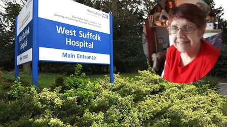 Janice Leach, 55, has frequent dialysis sessions at the West Suffolk Hospital - but has criticised t