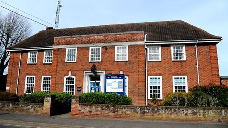 Leiston Police Station may soon be converted into affordable flats Picture: Simon Parker