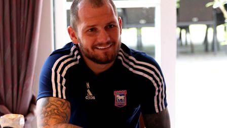James Norwood will attend one of the sessions. Picture: ROSS HALLS