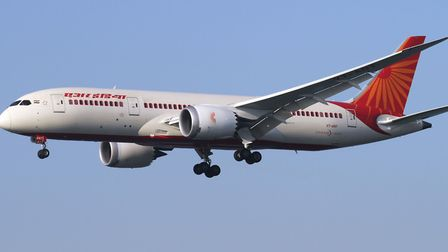 Air India will be launching a new service from Stansted to Amritsar. Pictrure: KRISTIAN 1108