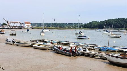 Woodbridge riverside is a big draw for the town and the 2019 Local Plan for the District published i
