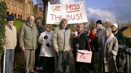 County Councillor Caroline Page is spearheading the campaign against the latest bus cuts. Picture: A