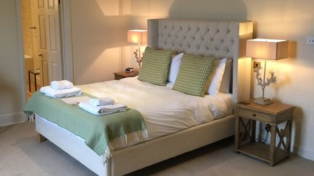 A room at the Black Lion, Long Melford Picture: ARCHANT