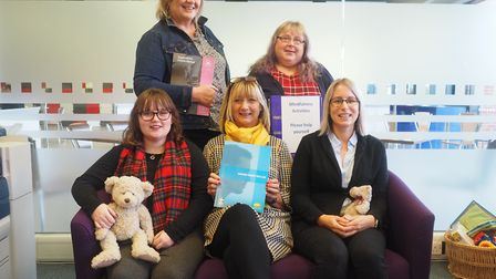 Mental Health First Aiders at West Suffolk College in Bury St Edmunds - just one of the groups that