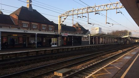 Colchester station will have a reduced service over Chirstmas because it is due to be partly rebuilt
