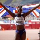Great Britain's Dina Asher-Smith made history with her 200m win at the World Championships in Doha.