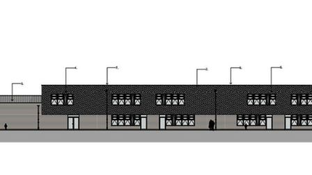 The designs for the new Thurston CofE Primary Academy building. Image produced by Concertus Design &