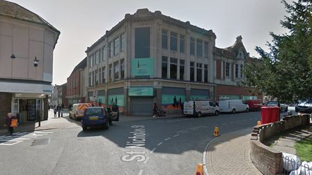 The former Co-op department store is being transformed into new shops and restaurants Picture: GOOGL
