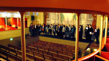The Theatre Royal almost �2 million pounds of funding to help restore the theatre in 2009 Picture: