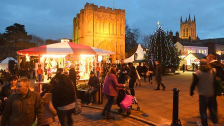 The Christmas Fayre is one of the largest in the country Picture: ARCHANT