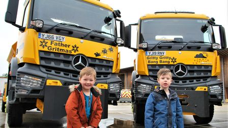 Local children were very proud to have named the fleet and are looking forward to seeing them on the